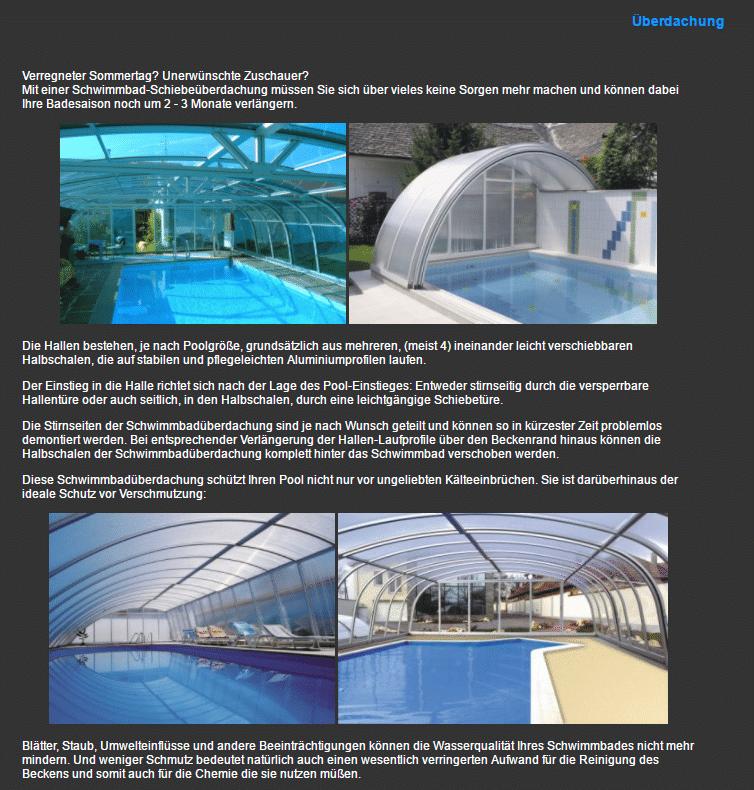 Hallenbad bauen für  Herrmannsacker