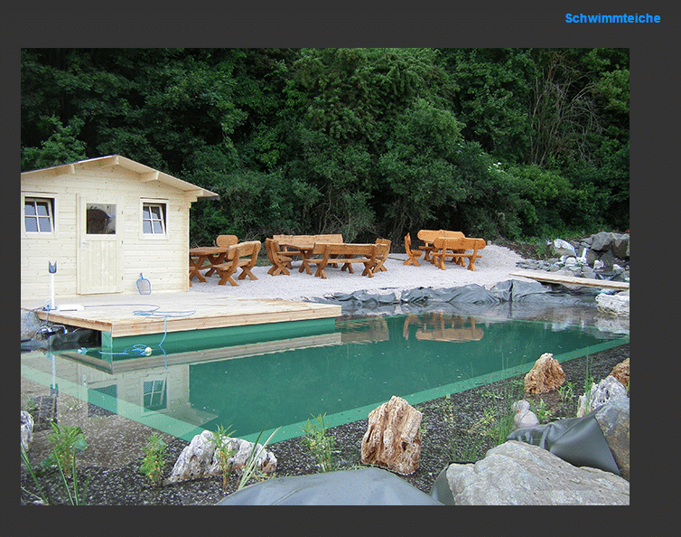 Schwimmteiche in  Rustenfelde